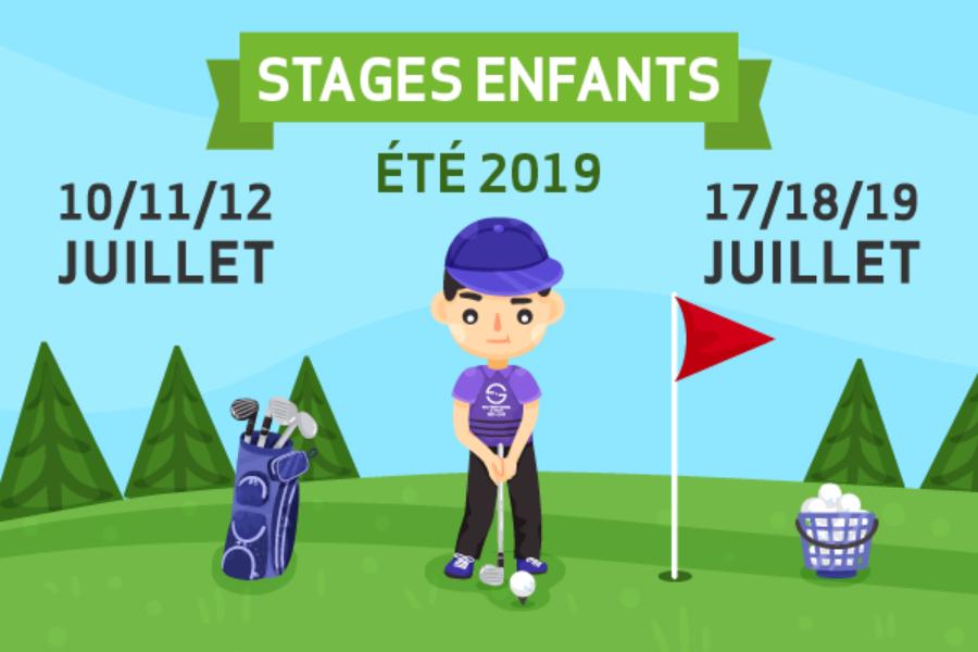 Stages Enfants – Juillet 2019